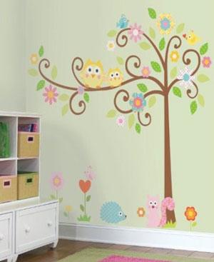 Babyzimmer deko eule  Kinderzimmer Ideen Für Mädchen Eule | afdecker.com