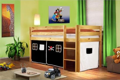 Die Platzsparende Losung Im Kinderzimmer Ein Hochbett Kindskopp