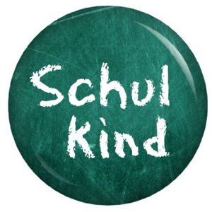 Schulkind Button