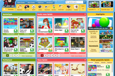Spielaffe Screenshot