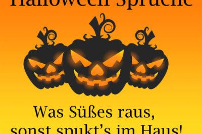 die besten Halloween Sprüche
