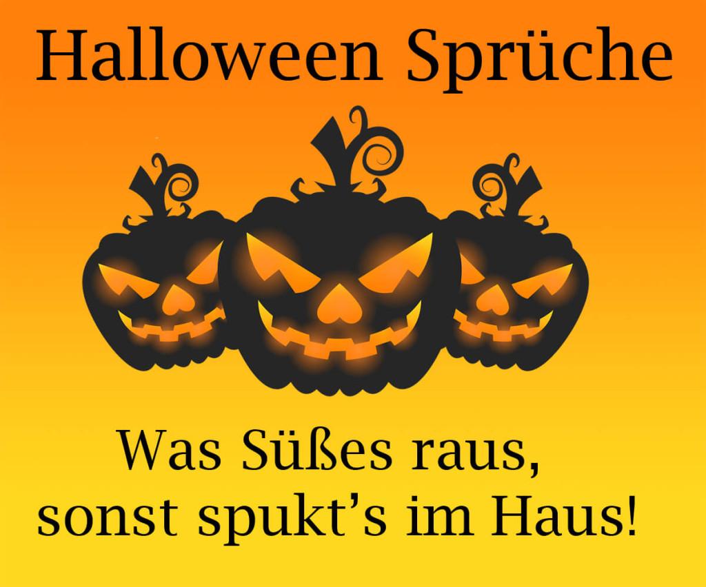 lustige halloween sprüche für kinder und erwachsene