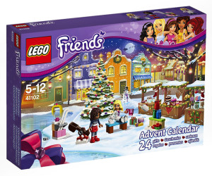 Lego Friends Adventskalender 41102