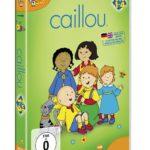 Caillou DVD Box Zeichentrick Kinder Serie mit Caillou auf 4 DVDs