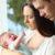 3-Monats-Koliken Baby